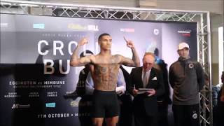 CROLLA V BURNS FULL UNDER CARD WEIGH IN FOOTAGE
