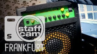 Staffcam: Bass News bei session Frankfurt