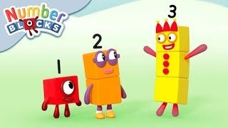 Numberblocks - One Meets Numbers Two & Three! | Learn to Count