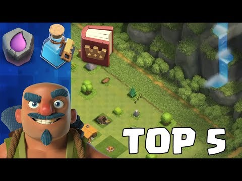 Top 5 Dinge in Clash of Clans