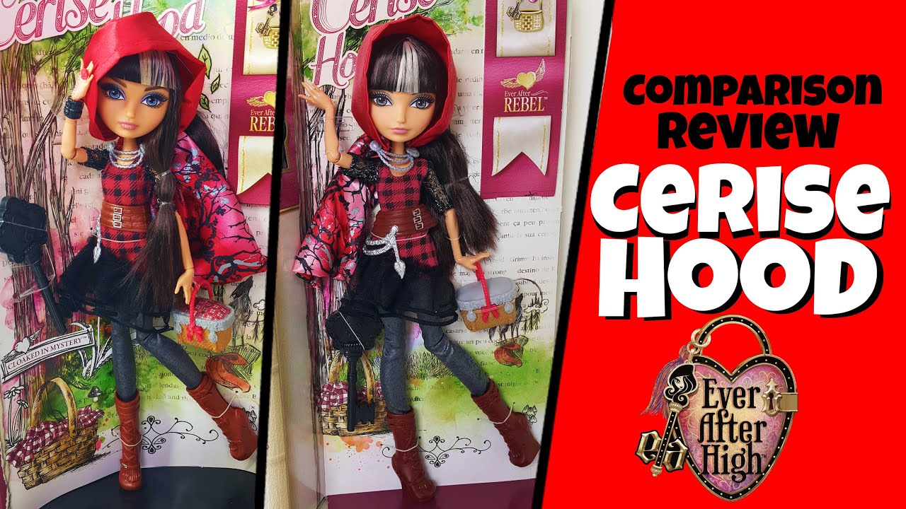 Cerise Hood Comparison Review Ever After High YouTube