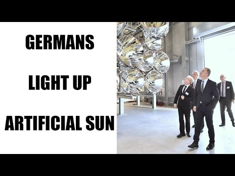 German scientists experiment with World's Largest Artificial Sun | Oneindia News