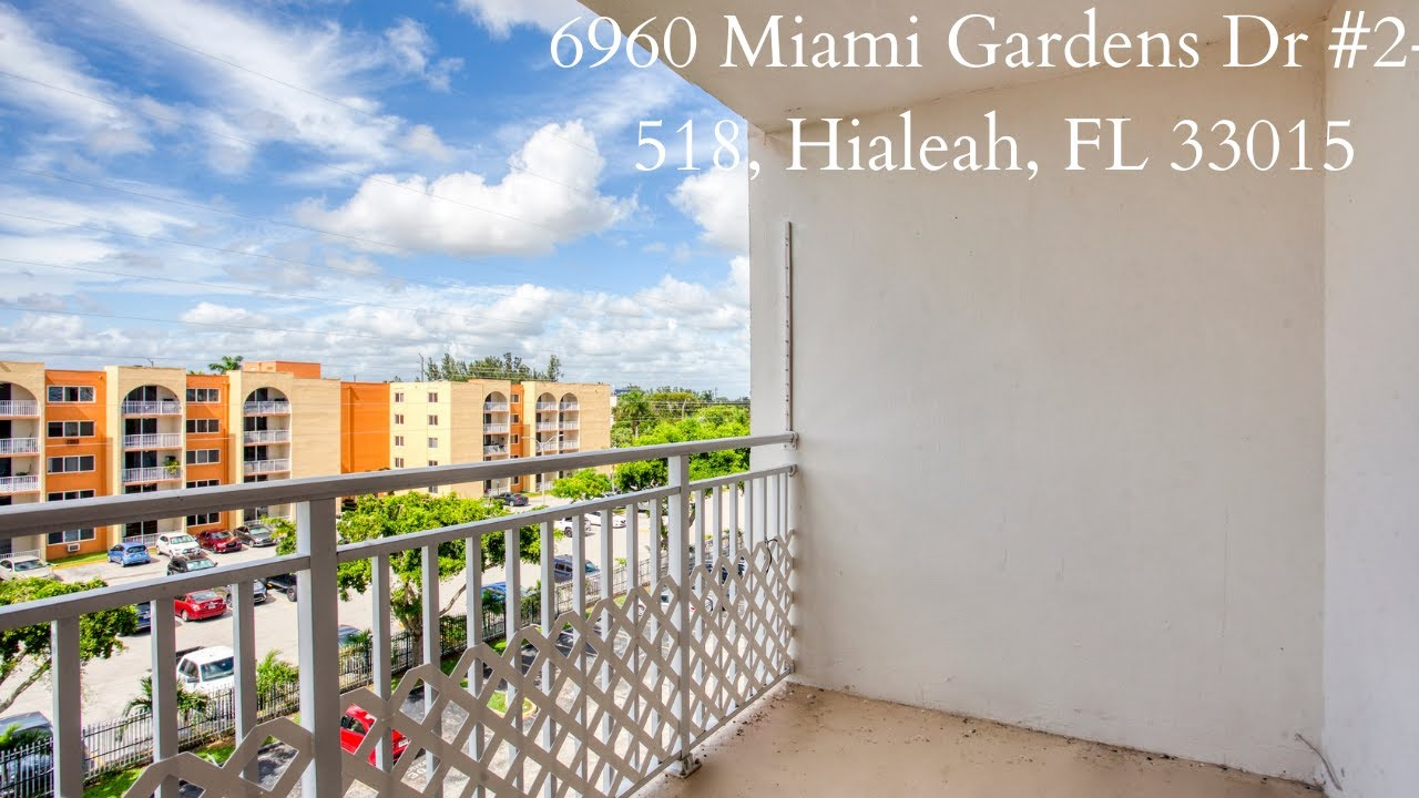 Spacious 1 Bedroom For Sale & Rent - 6960 Miami Gardens Dr #2-518, Hialeah, FL 33015