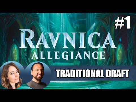Ravnica Allegiance Draft #1 featuring LSV / MTG Arena