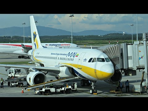 Myanmar Airways International Flight Review: 8M502 Kuala Lumpur to Yangon