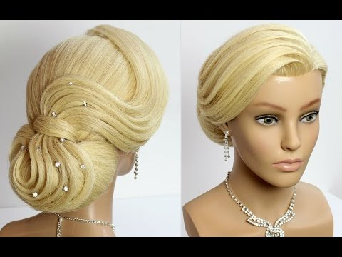 Wedding Prom Updo Hairstyle for Long Hair Tutorial