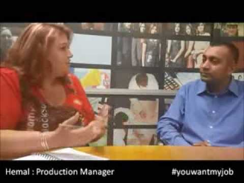 how to become a production manager with hemal youwantmyjob