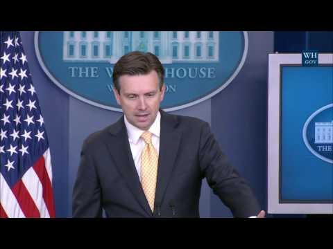 7/25/16: White House Press Briefing
