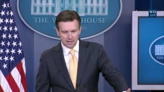 7/25/16: White House Press Briefing