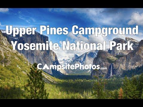 Upper Pines Campground, Yosemite National Park, California Campsite Photos