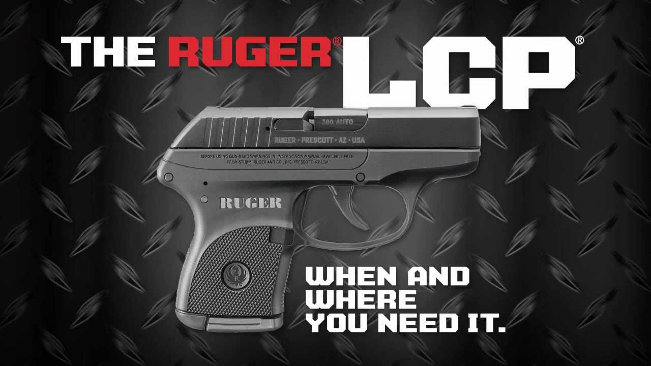 Ruger LCP | New Pistol in  380 ACP Announced
