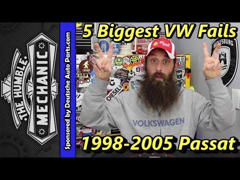 Top 5 Failures 1998-2005 Passat B5/B5.5