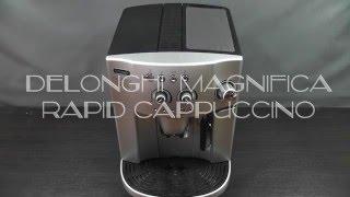 Кофемашина Delonghi Magnifica Rapid Cappuccino, видео обзор и инструкция.
