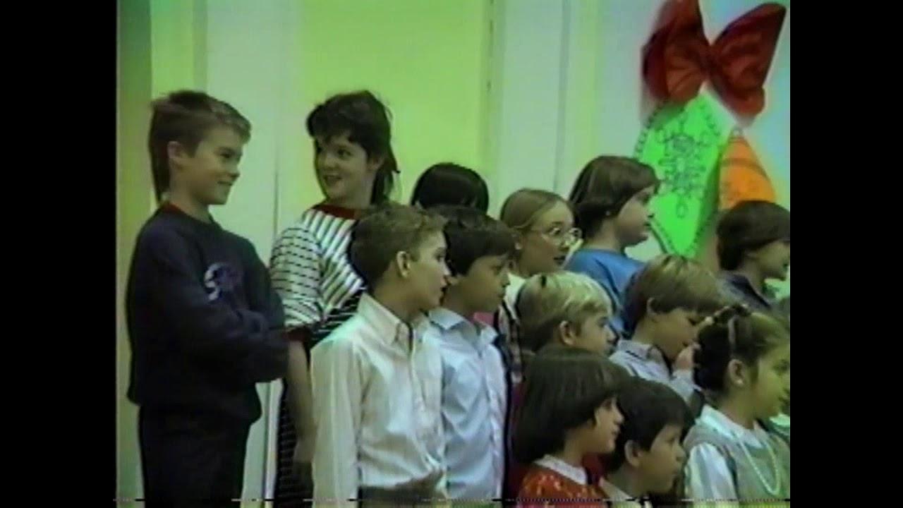 RPES Christmas  12-18-86
