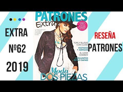 Reseña revista PATRONES EXTRA nº 62
