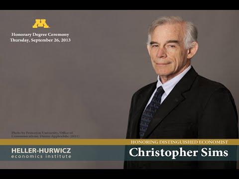 Nobel Laureate Christopher Sims University of Minnesota Public Lecture