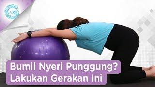Yoga Mengurangi Nyeri Tulang Pinggang dan Punggung bersama Jamilatus Sa'diyah.