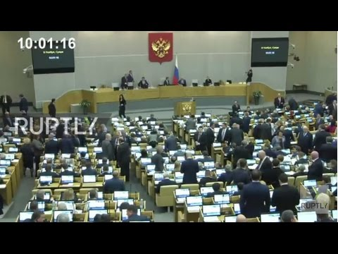 Russia: State Duma applauds Trump's victory in US elections