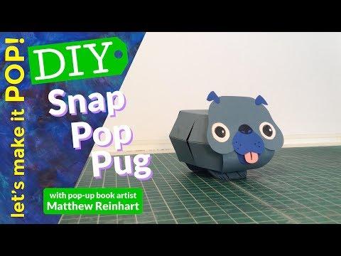 Let's Make It Pop! Snap Pop Pug