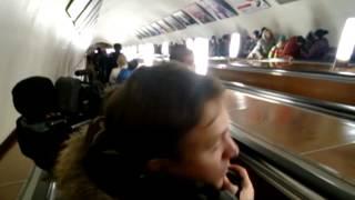 Тимати спустился в метро