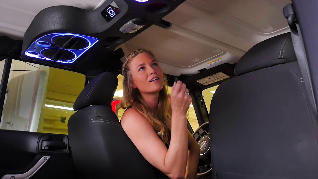 KIS Products Jeep Wrangler Sound Bar XL with RGB LED's ...