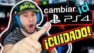 ¡¡¡NO CAMBIES TU ID DE PS4 SIN ANTES SABER ESTO! Todo sobre el cambio de ID de PS4