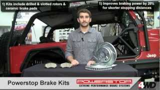 Powerstop Brake Kits for Jeep