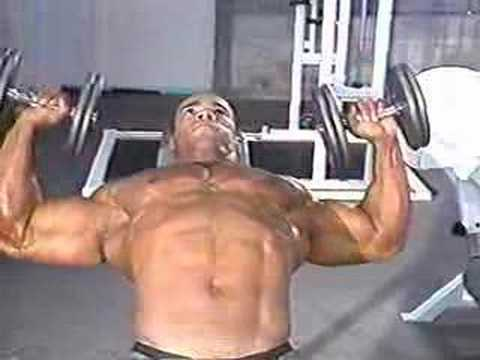 Kevin Levrone MVJ Gym Workout And Posing