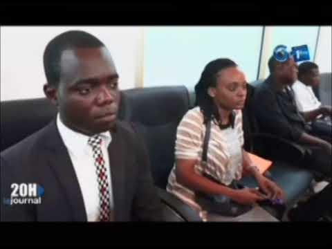 Point de presse du PDG de Gabon Poste, Michael Adandé