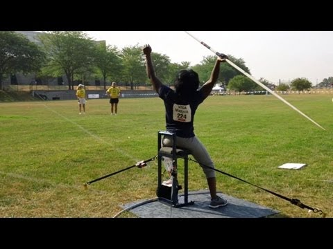 Javelin Thrower Ce-Ce Mazyck Gives it Her All at the Paralympic Trials