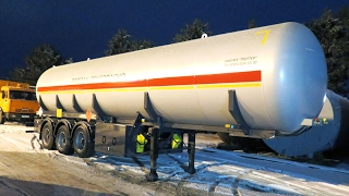 Полуприцеп газовоз ППЦТ-41(Полуприцеп газовоз предназначен для транспортировки сжиженного углеводородного газа от оптовых баз хране..., 2017-02-03T19:07:27.000Z)