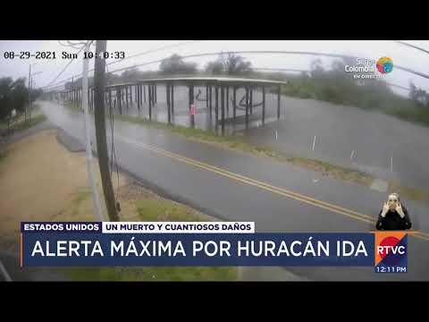 Alerta máxima por huracán Ida | RTVC Noticias