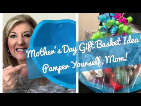 Mother's Day Gift Basket Idea-Pamper Yourself, Mom!