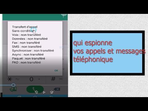 codes qui découvrent et stoppent  celui qui espionne votre téléphone