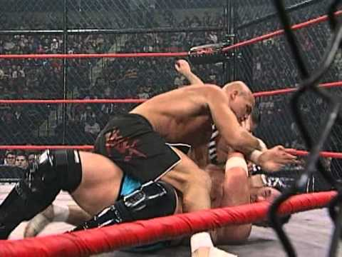 Lockdown 2008: Samoa Joe vs. Kurt Angle
