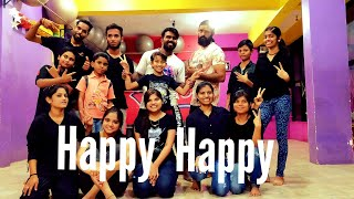 Happy Happy Dance/Choreography by Suresh P   | Blackmail | Irrfan Kh
