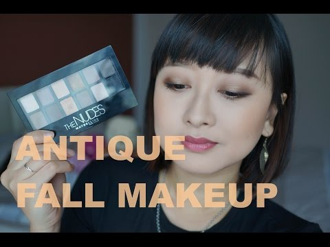 (Makeup)古銅金秋妝|Antique Gold Fall Makeup Look 2015