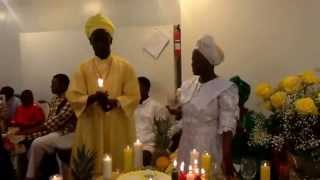 West Indian Spiritual Baptist Church Thanksgiving Time- TEACHER LAURA