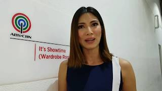 Nicole Cordoves Sinagot Ang Tanong Tungkol sa Build Build Build Question
