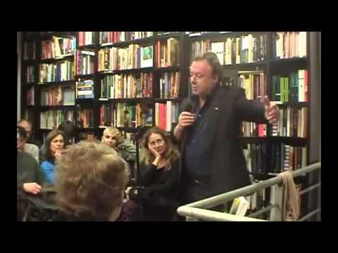 Christopher Hitchens - At The Village Voice Bookshop