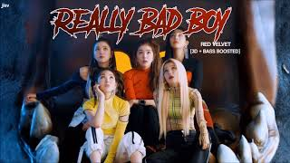 [3D+BASS BOOSTED]  RED VELVET (레드벨벳) - 'RBB (Really Bad Boy)' | jisv