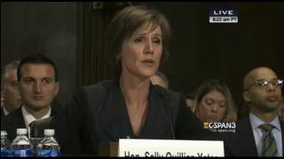 Senator Jeff Sessions Asks Sally Yates If She Would Say No To The President