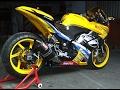 Video Modifikasi Motor Kawasaki Ninja 250 Warna Kuning Keren Terbaru