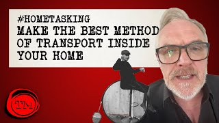 Make and Demonstrate the Best Method of Transport in Your Home | #Hometasking #StayHome