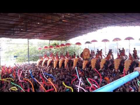 Thrissur Pooram Thiruvambadi Desam Pandimelam [HD]