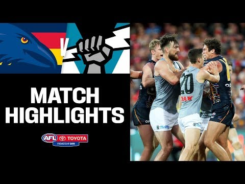 Showdown 47 Highlights   Adelaide V Port Adelaide   Round 16, 2019   AFL