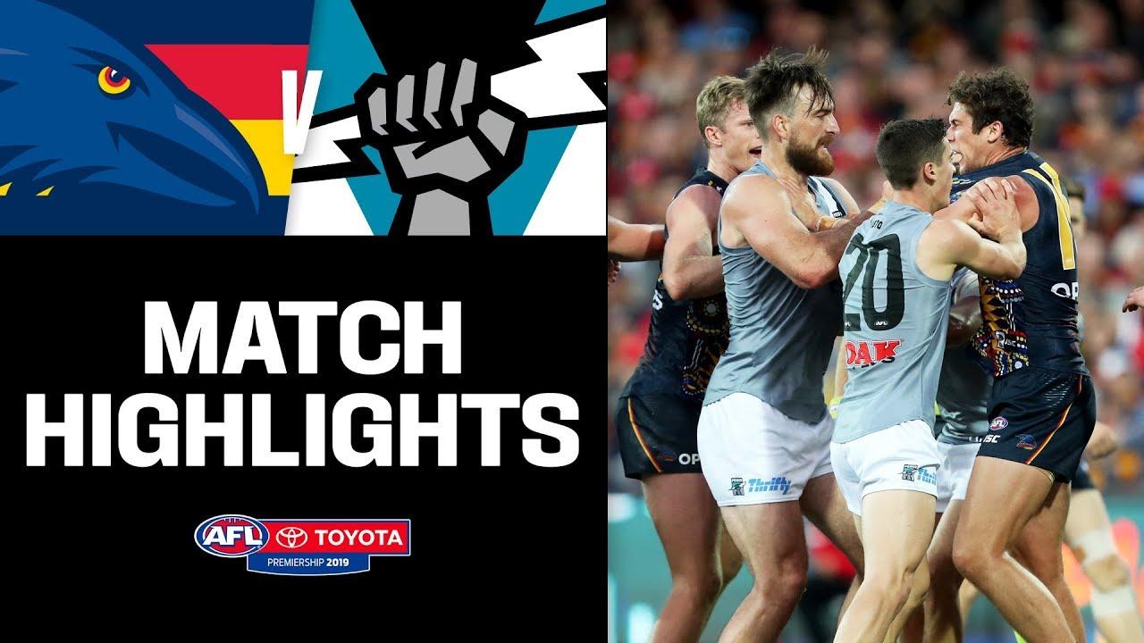 Showdown 47 Highlights | Adelaide v Port Adelaide | Round 16, 2019 | AFL