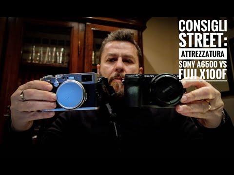 Consigli Street: attrezzatura, Sony a6500 Vs Fuji x100f
