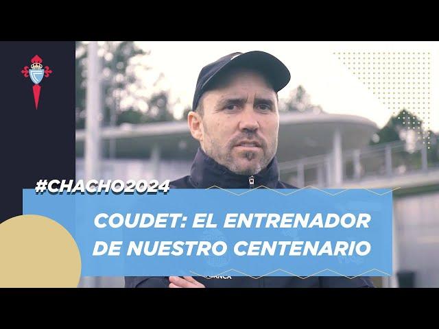 La dedicatoria del club a Eduardo Coudet en su renovación | RC Celta