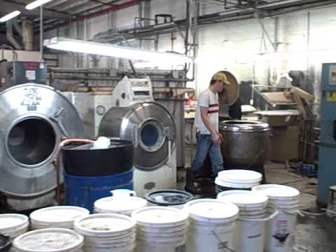 Fabric Dye House Tour: Clothing Manufacturing Los Angeles ...